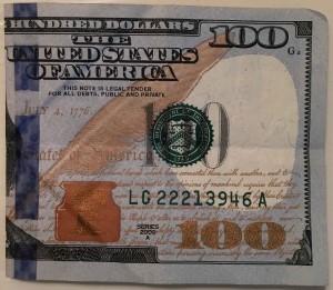 dollar-folded