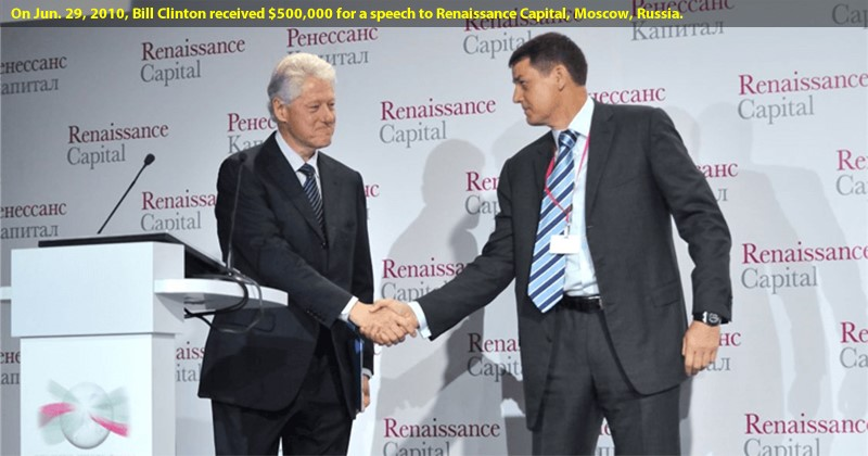 Bill Clinton Renaissance Capital