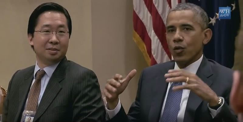 2014-08-20-L-R-Todd-Y-Park-and-Barack-H-Obama-US-Digital-Service-launch-White-House-Aug-20-2014