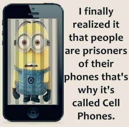 cell phone imprisonment