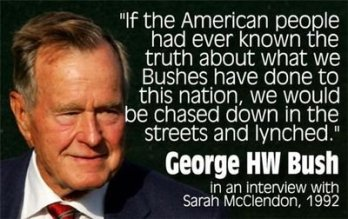 George HW Bush quote