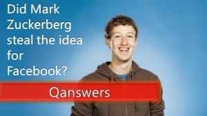 Zuckerberg steals Facebook