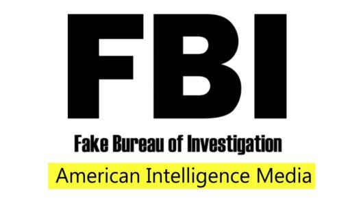 FBI Fake with AIM logo