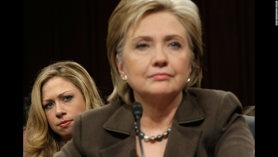 THE INCREDIBLE BACKSTORY OF CHELSEA CLINTON  Hillary-chelsea