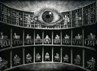 Big Brother is Watching You — For Real Sentient-world-simulation