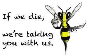 Bees die we die