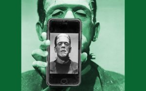 Frankenstein and Smart Phone