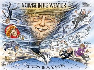 Trump change in weather garrison
