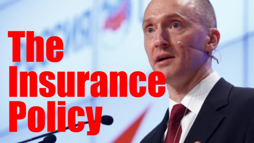 Carter page insurance