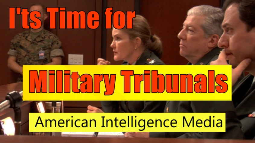 Time for military tribunals