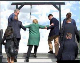 Hillary hanging