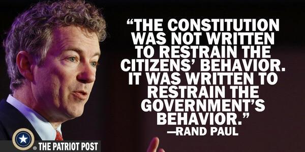 Ron paul constitution quote