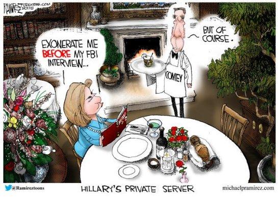 HIllary private server