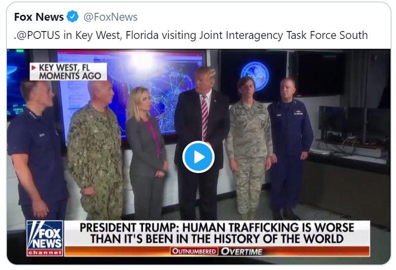 Human trafficking Trump