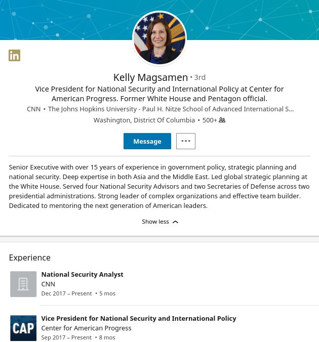 Kelly Magsamen profile