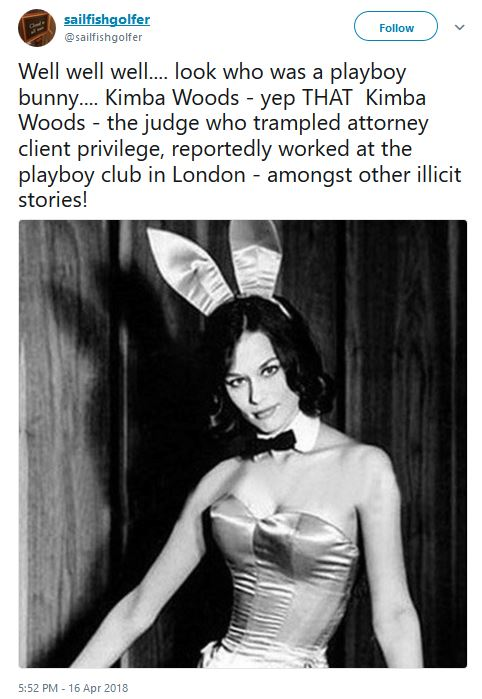 PLAYBOY PICTURE OF JUDGE KIMBA WOOD
