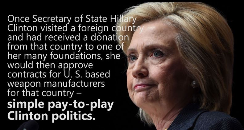 pay to play Hillary