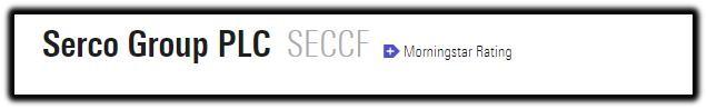 Serco Group PLC 1