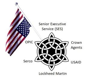 SES emblem and badge