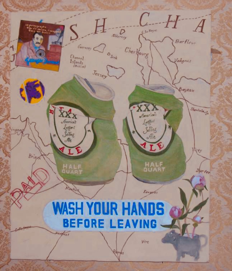 Wash you hands before leaving