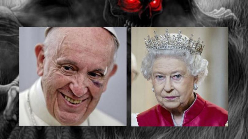 evil pope and queen