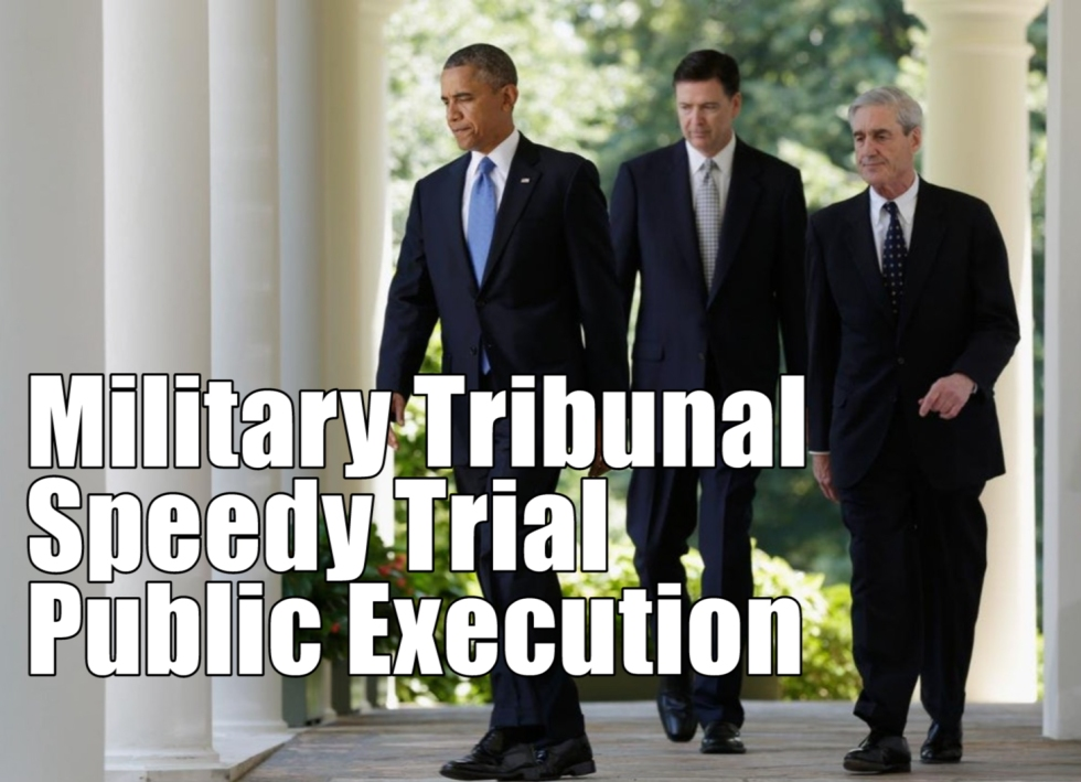 Traitors Obama-Comey-Mueller