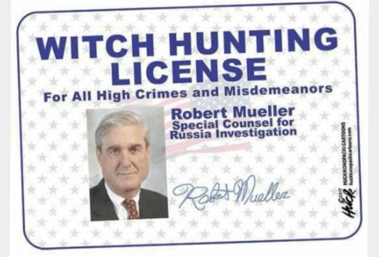 witch hunt license