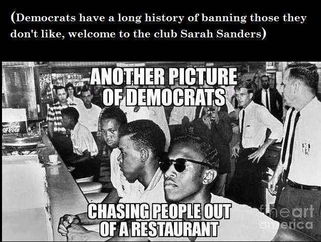 democrats and restaurants