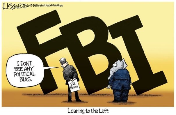 FBI leaning to left