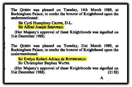 Knighthoods