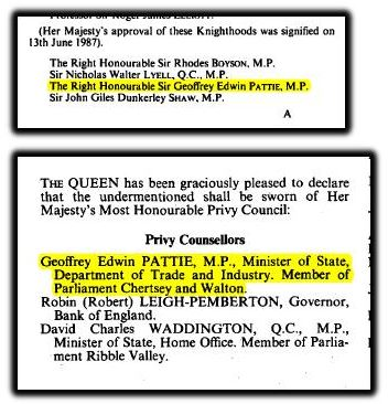 Privy Counsellors