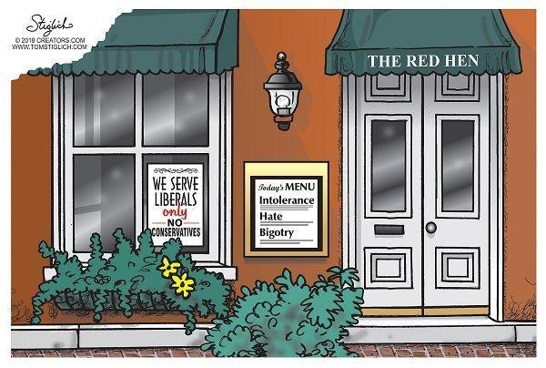 Red hen new menu