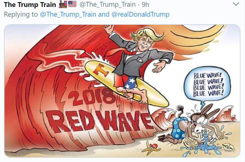 Red Wave trump tweet