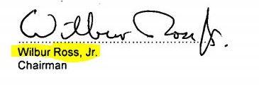 Ross signature
