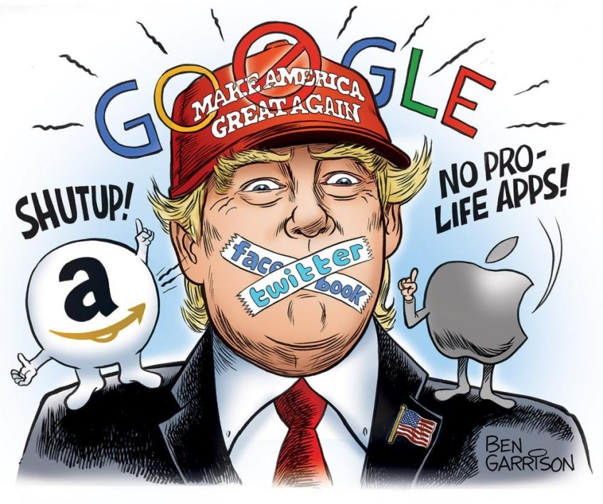Silence free speech