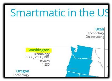 Smartmatic in Washington