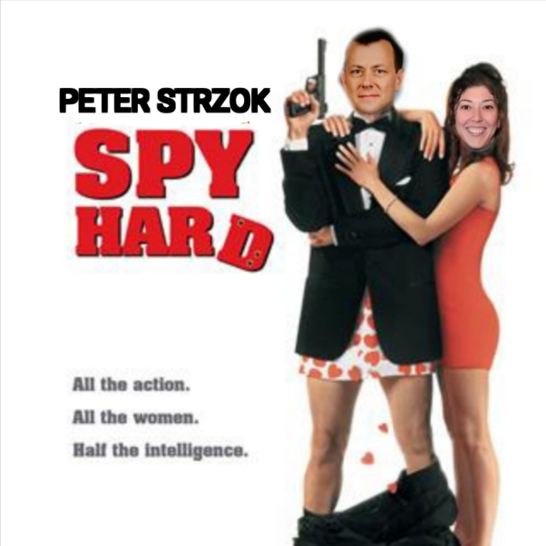 Strzok and Page spies