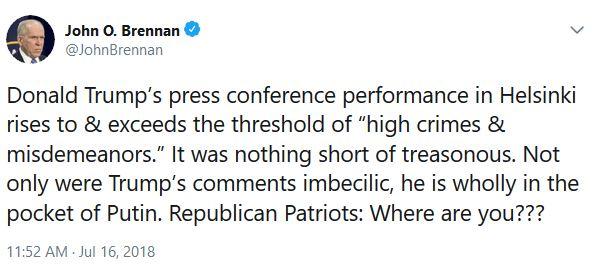 Brennan tweet 7-16 1