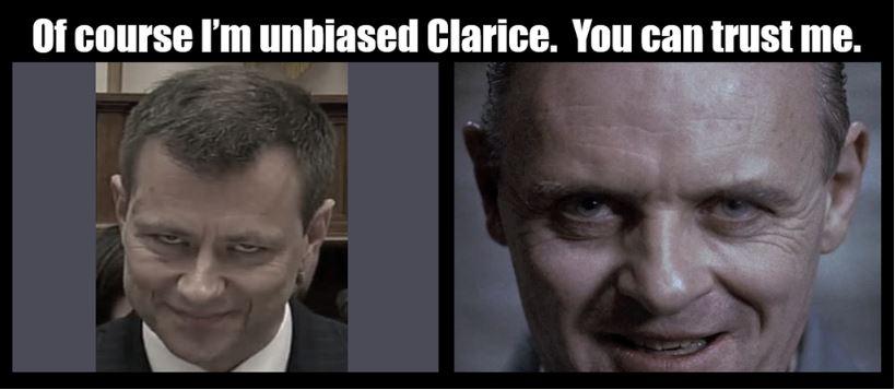 Clarise and Strzok