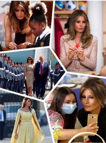 FLOTUS collage