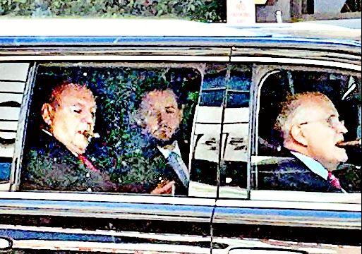 Goelman in car