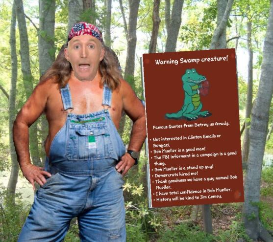 Gowdy swamp thing