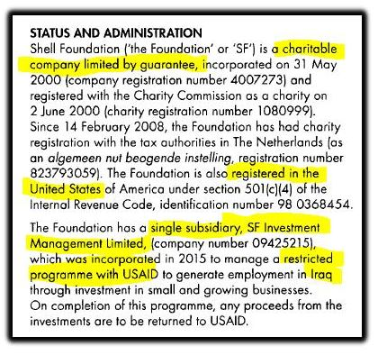 status and administration