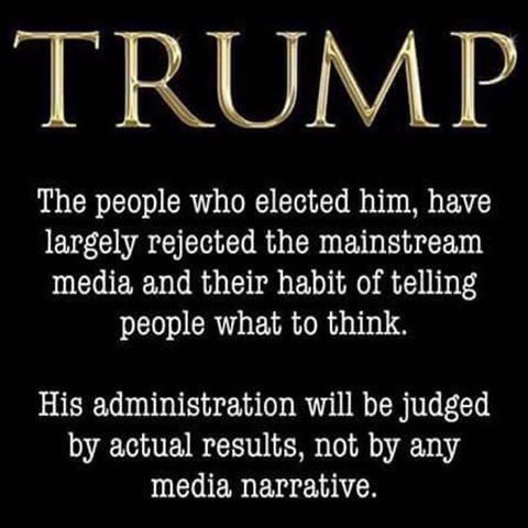 Trump elected by people