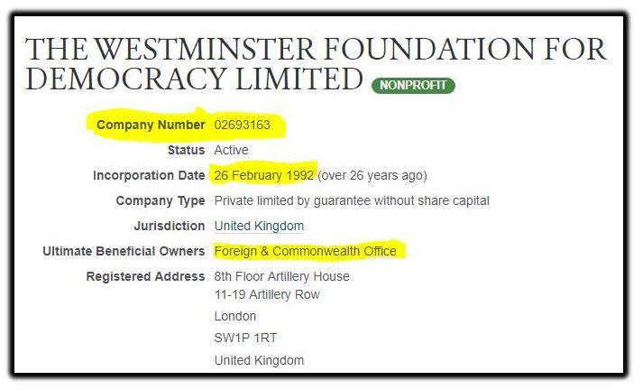 Westminster Foundation 1