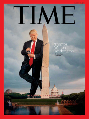 Time cover trump tweets