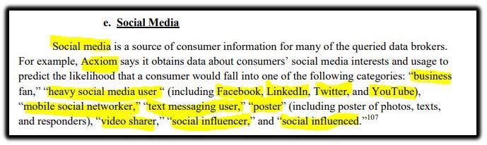 Acxiom social media