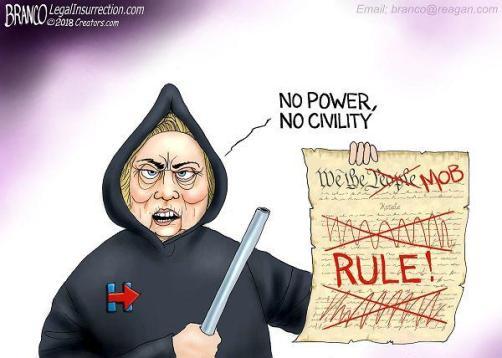 HIllary mob rule