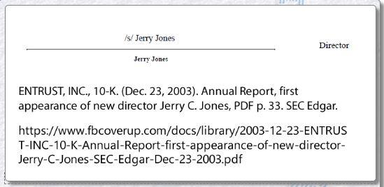 Jerry Jones Entrust