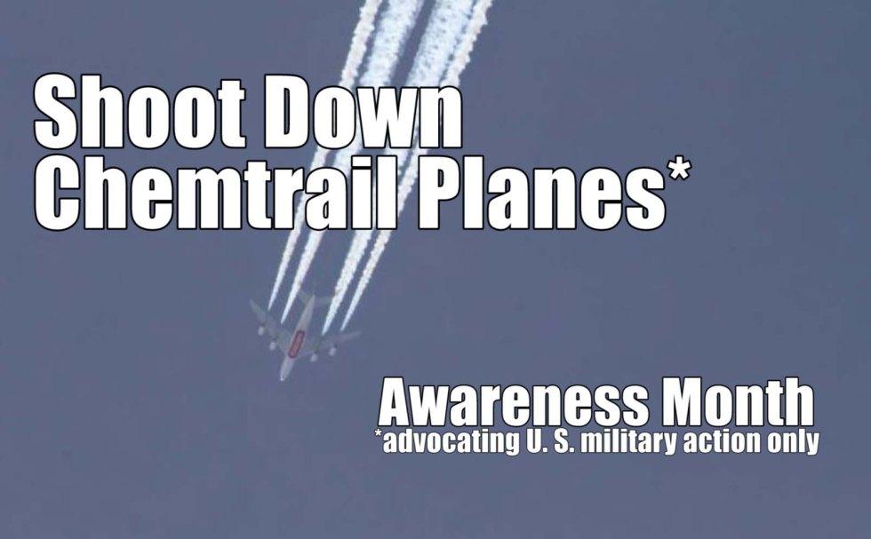 Chemtrail planes